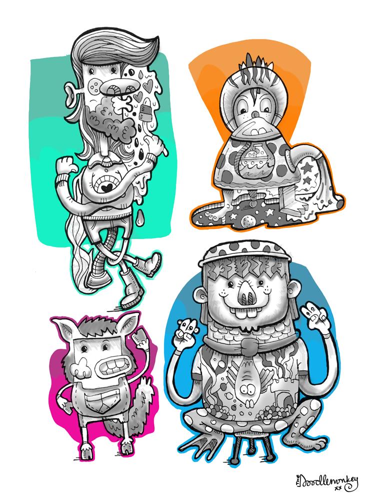 Doodle-Minsters